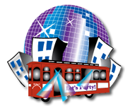 Boston Party Bus, Limo Bus, Party Trolley, Charter Rental Retina Logo